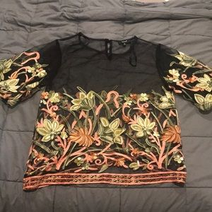 Never worn cute date top